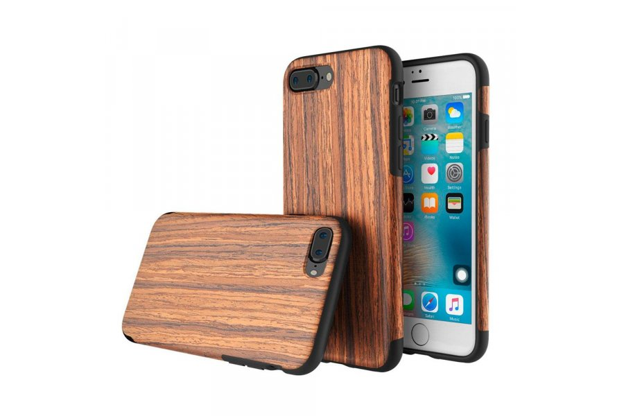 Чехол ROCK Origin Series (Grained) для iPhone 7/8 Plus Padauk
