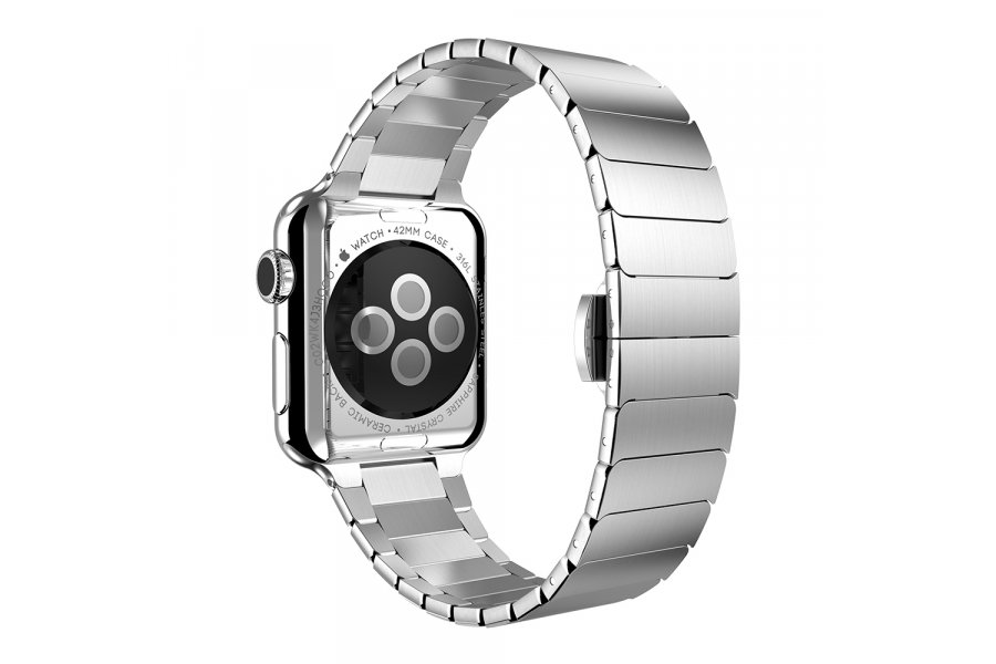 Браслет Space Link для Apple Watch 38/40 mm Silver