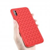 Чехол Baseus BV Weaving Case для iPhone X/XS Red