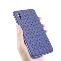 Чехол Baseus BV Weaving Case для iPhone XS Max Blue
