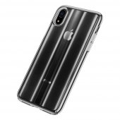 Чехол Baseus Aurora Series Transparent Black для iPhone XR