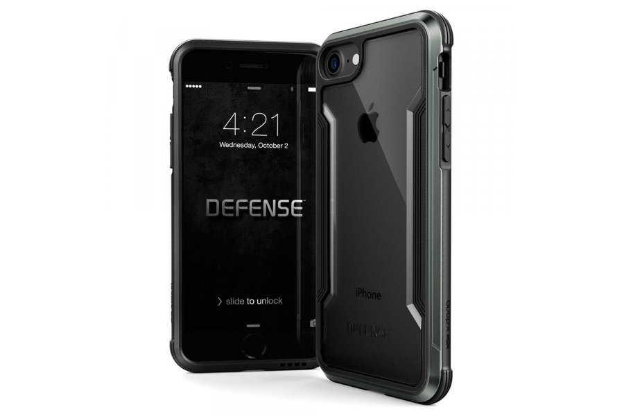 Защитный чехол X-Doria Defense Shield для iPhone 7/8 Black