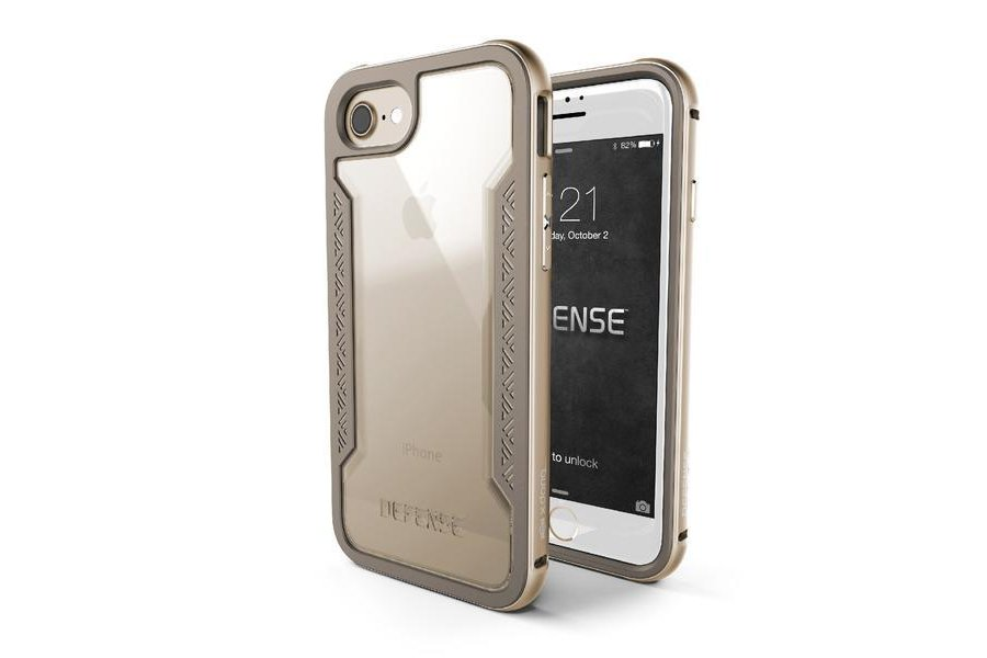 Защитный чехол X-Doria Defense Shield для iPhone 7/8 Gold