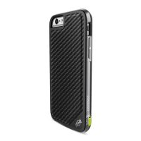 Чехол X-Doria Defense Lux Leather для iPhone 6/6s Black Carbon