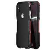 Бампер Luphie Ultra Luxury Black/Red for iPhone X/Xs
