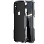 Бампер Luphie Ultra Luxury Gray/Silver for iPhone X/Xs