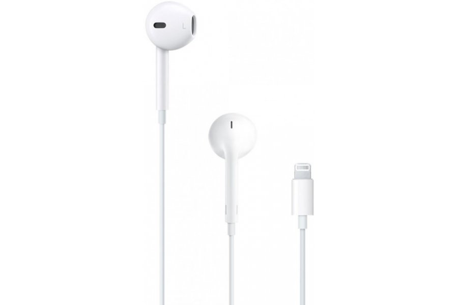 Наушники+ДУ Apple iPhone EarPods with Mic Lightning (MMTN2ZM/A)