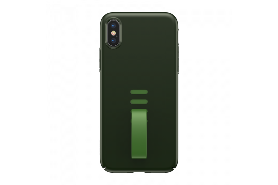 Чехол Baseus Little Tail Case для iPhone X/XS Green