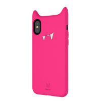 Чехол силиконовый Baseus devil baby case для iPhone Xs Max Rose