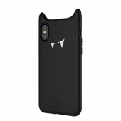 Чехол силиконовый Baseus devil baby case для iPhone X/Xs Black