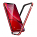Бампер Silicone-Aluminium для iPhone XR Red