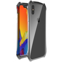 Бампер Luphie для iPhone Xs Max Grey
