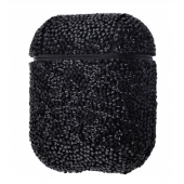 Чехол Bling World Case Grainy Diamonds для Apple AirPods Black