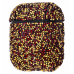 Чехол Bling World Case Grainy Diamonds для Apple AirPods Black Red Gold