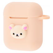 Чехол Colourful Case with Logo для Apple AirPods Baby Bear