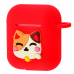 Чехол Colourful Case with Logo для Apple AirPods China Cat