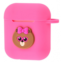 Чехол Colourful Case with Logo для Apple AirPods Pretty Bear