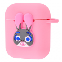 Чехол Colourful Case with Logo для Apple AirPods Rabbit Judy