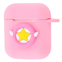 Чехол Colourful Case with Logo для Apple AirPods Sailor Moon