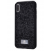 Чехол Bling World Grainy Diamonds (TPU) для iPhone Xs Max Black