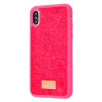 Чехол Bling World Grainy Diamonds (TPU) для iPhone Xs Max Pink
