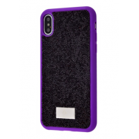 Чехол Bling World Grainy Diamonds (TPU) для iPhone Xs Max Purple