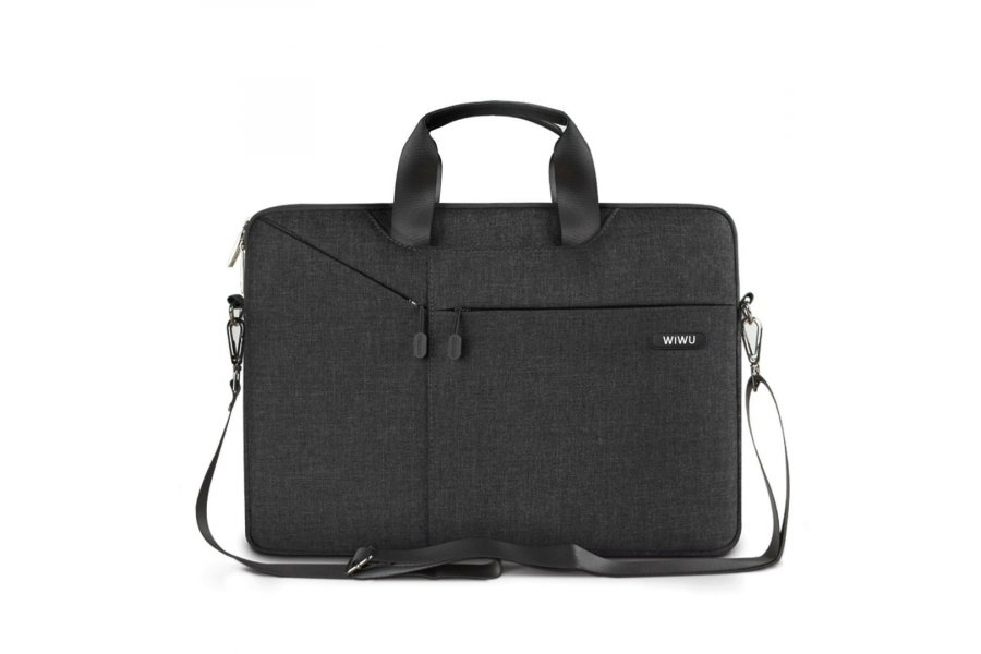 Cумка WIWU Gent Brief Case for MacBook Air/Pro 13  Black
