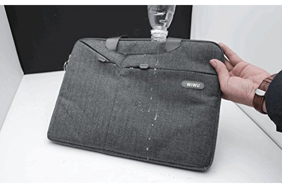 Cумка WIWU Gent Brief Case for MacBook Pro 15 Grey