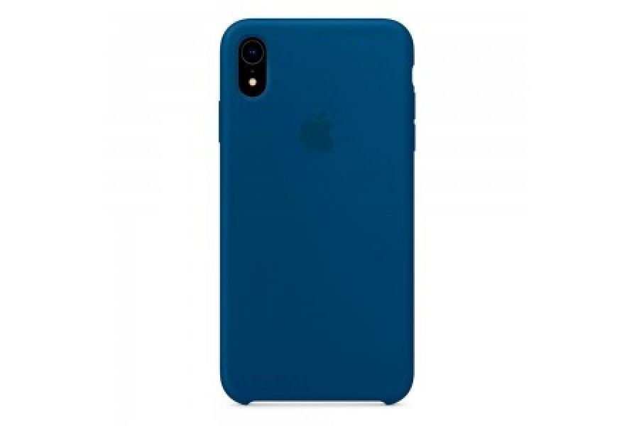 Силиконовый чехол Apple iPhone Xr Silicone Case OEM Blue Horizon