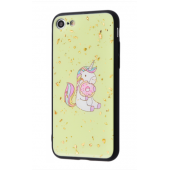 Чехол Confetti Fashion case My style (TPU) iPhone 7/8 Bages Unicorn