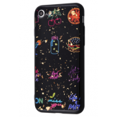 Чехол Confetti Fashion case My style (TPU) iPhone 7/8 Black