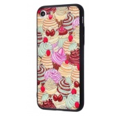 Чехол Confetti Fashion case My style (TPU) iPhone 7/8 Cake