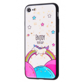 Чехол Confetti Fashion case My style (TPU) iPhone 7/8 Enjoy Your Day