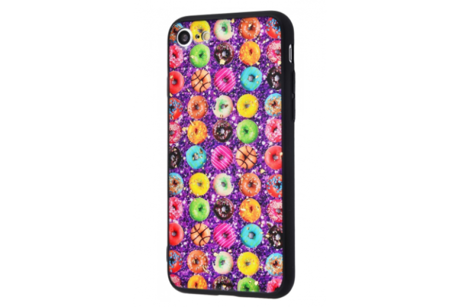 Чехол Confetti Fashion case My style (TPU) iPhone 7/8 Purple