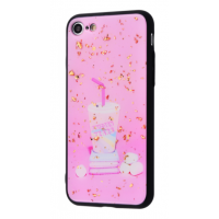 Чехол Confetti Fashion case My style (TPU) iPhone 7/8 Rose Shake