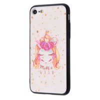 Чехол Confetti Fashion case My style (TPU) iPhone 7/8 Unicorn
