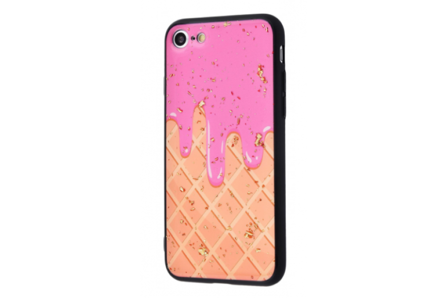 Чехол Confetti Fashion case My style (TPU) iPhone 7/8 Waffle