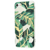 Чехол Beautiful plants case (TPU) iPhone 7/8 Green