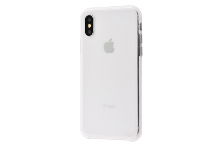 Чехол Clear Case for iPhone X/Xs White