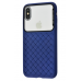 Чехол Baseus Glass Weaving Case iPhone X/Xs Blue