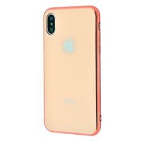 Чехол Glass iPhone case iPhone X/Xs Gold