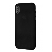 Чехол Alcantara 360 Protect iPhone X/Xs Black