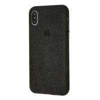 Чехол Textile cover 360 Protect iPhone Xs Max Black