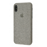 Чехол Textile cover 360 Protect iPhone Xs Max Grey