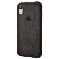 Чехол Textile cover 360 Protect iPhone Xr Black