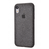 Чехол Textile cover 360 Protect iPhone Xr Dark Grey