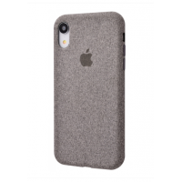 Чехол Textile cover 360 Protect iPhone Xr Grey