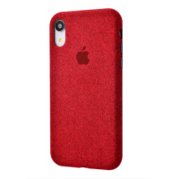 Чехол Textile cover 360 Protect iPhone Xr Red