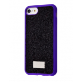 Чехол Bling World Grainy Diamonds (TPU) iPhone 7/8 Purple