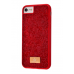 Чехол Bling World Grainy Diamonds (TPU) iPhone 7/8 Red